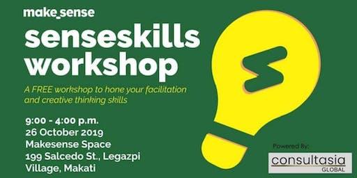 SENSE SKILLS WORKSHOP on Facilitating Skills and Creative Thinking