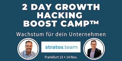2 Tage Growth Hacking Boost Camp™: Wachstum für dein Unternehmen
