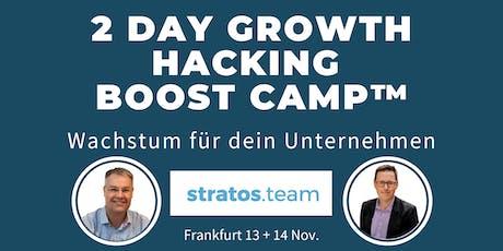 2 Tage Growth Hacking Boost Camp™: Wachstum für dein Unternehmen  Tickets