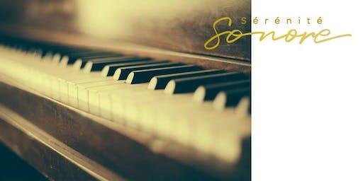 Satie en hamacs (supplémentaire) - Jacynthe Riverin, pianiste