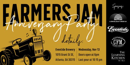 Farmers Jam Anniversary Party