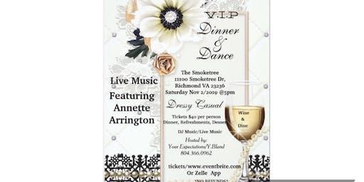 VIP Dinner Dance by Yvette Bland