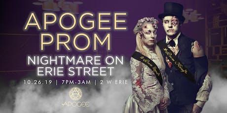 Apogee Prom | Nightmare on Erie Street tickets