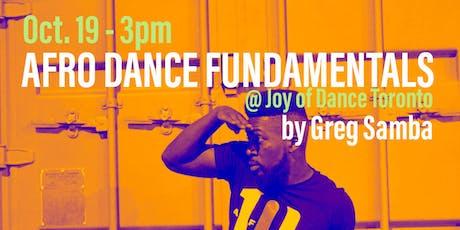 Afro Dance Fundamentals | Drills & Basic Steps  tickets