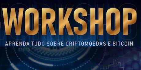 Workshop de Criptomoedas ingressos