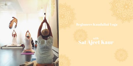Beginners Kundalini Yoga with Sat Ajeet tickets