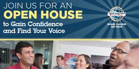 Danforth-Pape Toastmasters Open House tickets