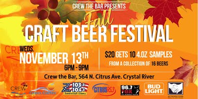 Crew Fall Craft Beer Festival