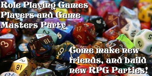 Role Playing Game GM and Player Party!