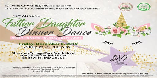 2019 Ivy Vine Charities - 12th Annual Father Daughter Dinner Dance