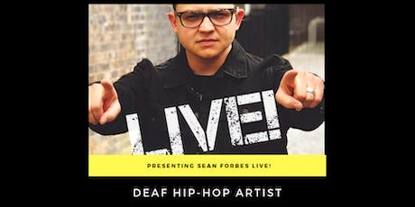 Sean Forbes LIVE!  Fundraising Event Benefitting USA Deaf Sports Federation tickets