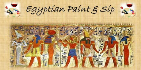 Egyptian Paint and Sip tickets