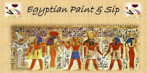 Egyptian Paint and Sip