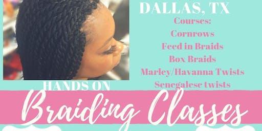 Zion's Braiding Class Dallas Evening Class