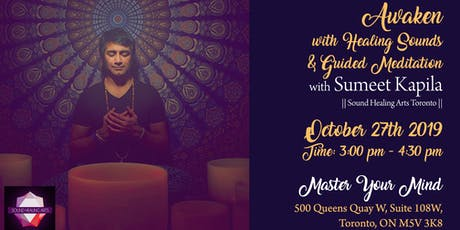 Awaken with Healing Sounds and Guided Meditation - October Edition tickets