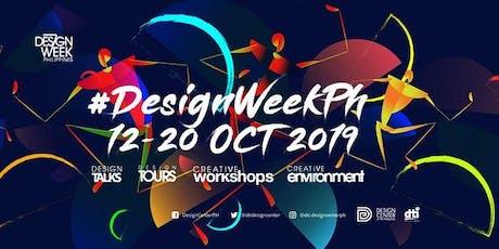 Design Week Philippines: Creative Crawl Poblacion tickets