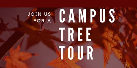 Campus Tree Tour for Grad Students tickets