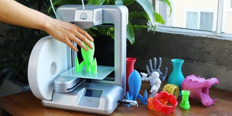 3D Printing and Laser Engraving Workshop tickets
