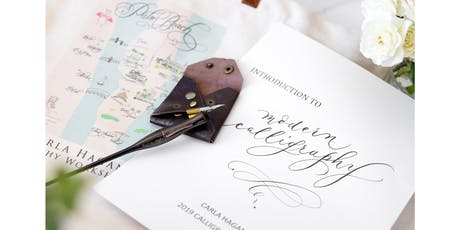 """Introduction to Modern Calligraphy """"how to write and eat your own words"""" tickets"""