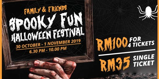 KidZania Kuala Lumpur Family & Friends Spooky Fun Festival