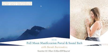 Full Moon Manifestation Portal & Sound Bath billets