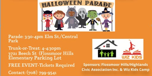 Flossmoor Hills/Highlands Neighborhood Costume Parade and Trunk-or-Treat
