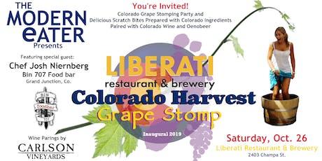 Colorado Harvest Grape Stomp Party tickets