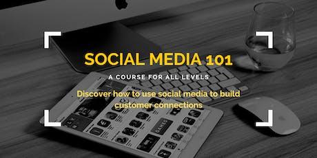 Social Media 101 tickets