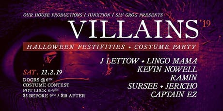 OHP & Junxtion Pres. Villains costume party tickets