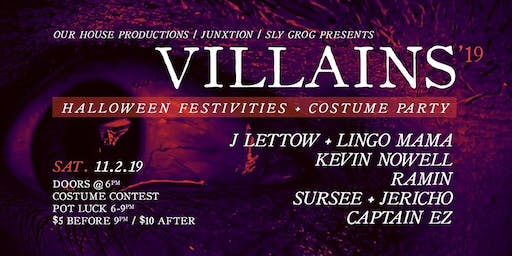 OHP & Junxtion Pres. Villains costume party