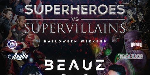 Superheroes vs Supervillains with BEAUZ by Subtle Asian Party 11/02/SAT