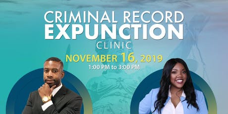 Criminal Record Expunction Clinic tickets