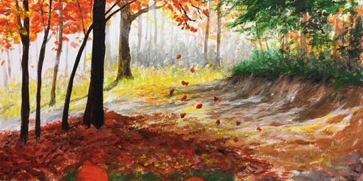Create Your Own Masterpiece - Bold Autumn Painting Event
