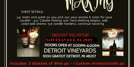 1ST EVER CANDLES WITH A TWIST! SWEETEST DAY FUN!  tickets
