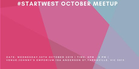 #StartWest October Meetup tickets