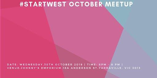 #StartWest October Meetup