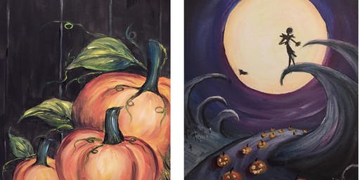 Halloween Paint Night at Leah's Bar & Grill