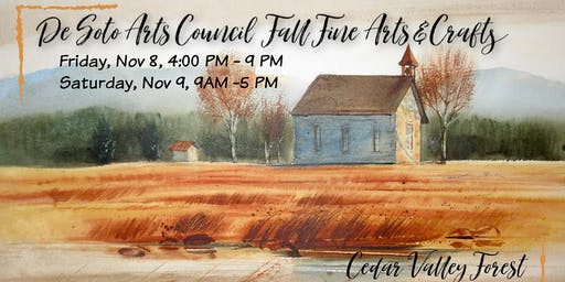 De Soto Arts Council Fall Fine Arts & Crafts
