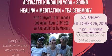 Root Chakra Balancing Kundalini Yoga, Meditation and Gong Bath tickets