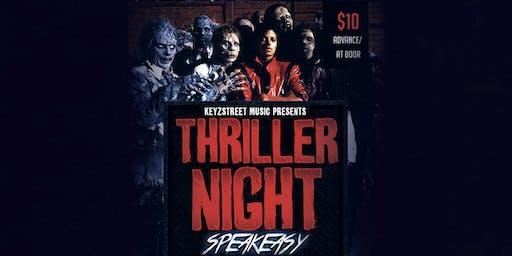 KeyzStreet Music presents: Thriller Night