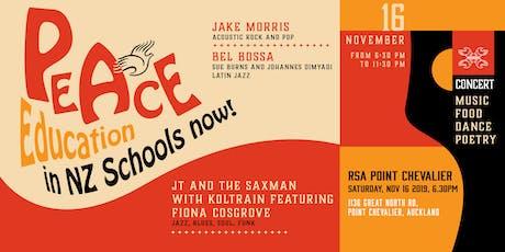 Peace Education in NZ Schools Now! tickets