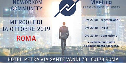 Presentazione Business Neworkom