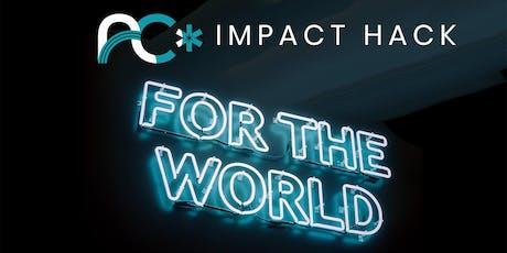 Social Impact Tech Hackathon + Happy Hour tickets