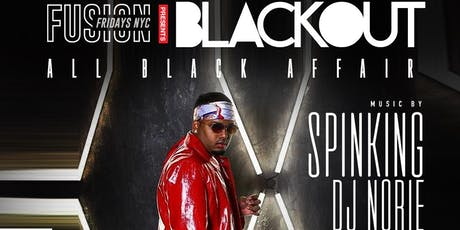 DJ SPINKING LIVE BLACK OUT NYC at Maracas Nightclub tickets
