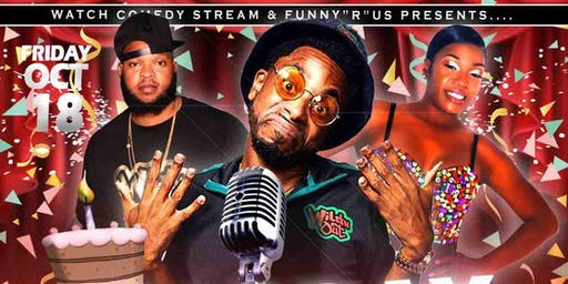 Wild 'N Out's Burpie,  Mope Williams & Erica Duchess LIVE  (Henderson NC)