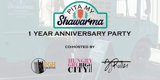 Pita My Shawarma's 1 Year Anniversary Party