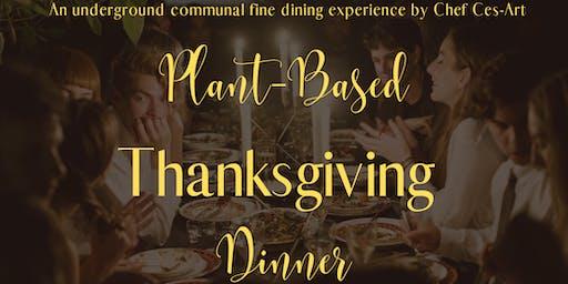 Plant-Based Thanksgiving Dinner w/ Vegan Wine