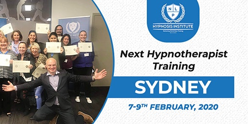 3 Day HYPNOSIS CERTIFICATION Sydney