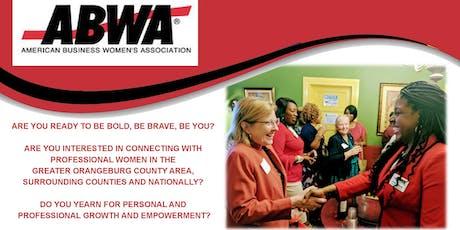 "EmpowerHer ABWA Chapter ""Empower Chat"" Tuesday, November 12th Orangeburg, SC tickets"
