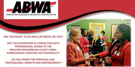 """EmpowerHer ABWA Chapter """"Empower Chat"""" Tuesday, January 14th, Orangeburg, SC tickets"""